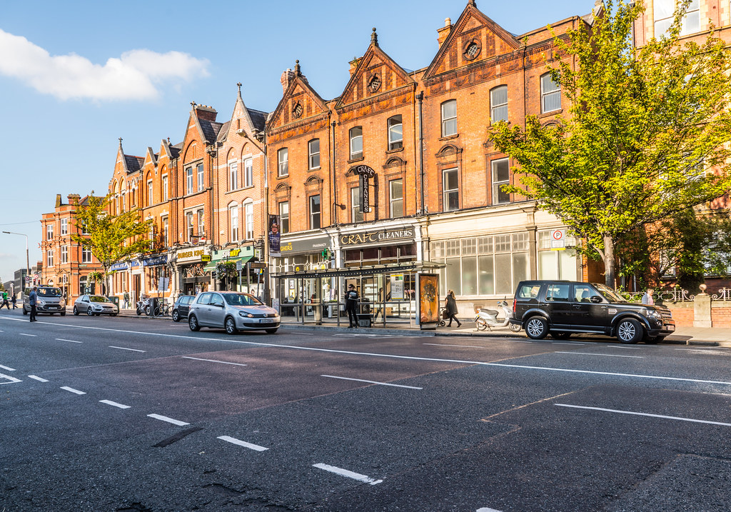 VIEW OF UPPER BAGGOT STREET IN DUBLIN [OCTOBER 2016]-121818