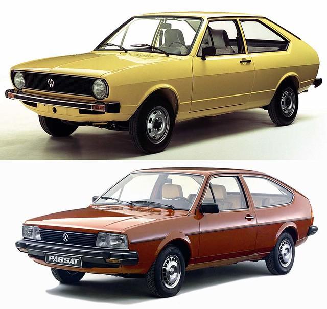 Трехдверные хэтчбеки Volkswagen Passat B1 и Passat B2