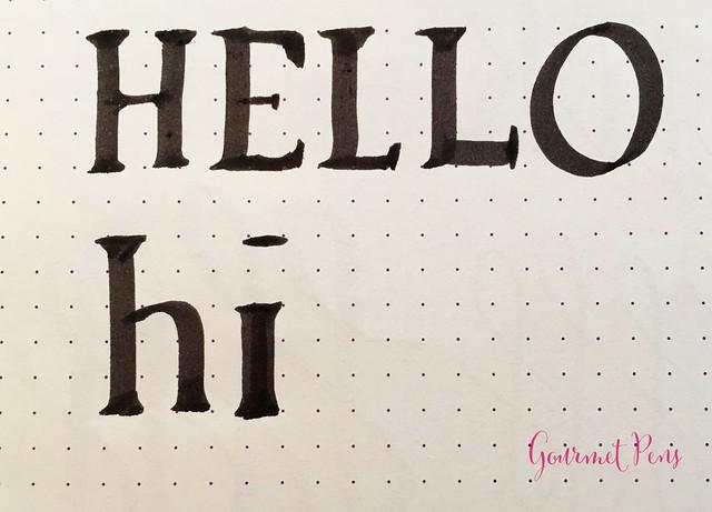 Review J. Herbin Calligraphy Markers @BureauDirect 4