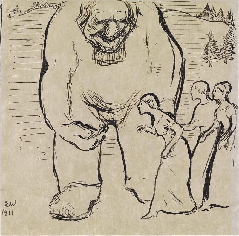 Troll og tre prinsesser