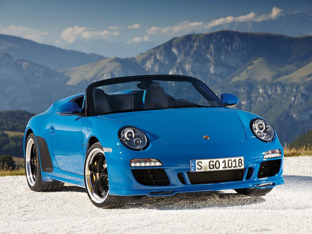 Porsche 911 Speedster (кузов 997). 2010 год