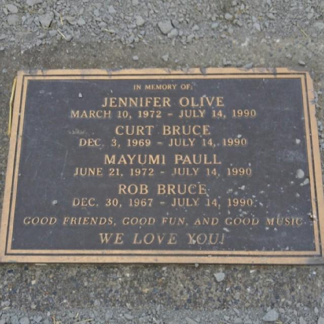 Memorial on Spencer Island