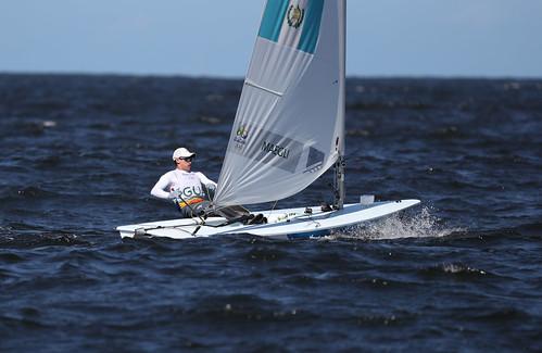 Juan Ignacio Maegli navegó a la final en Rio 2016