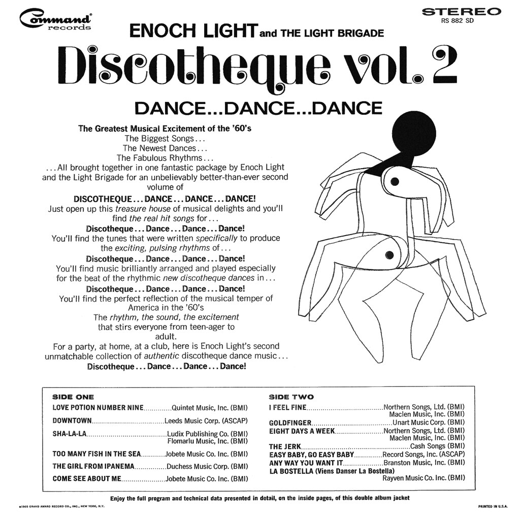 Enoch Light - Discotheque Vol 2 b