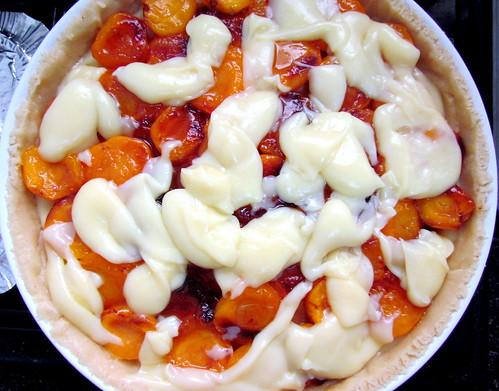 Cream Apricot Tart