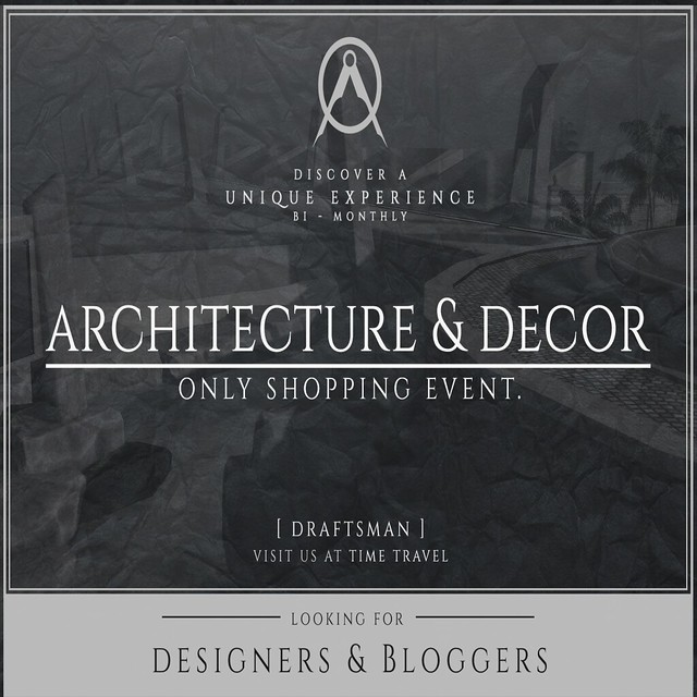 Draftsman looking for Designers and Bloggers