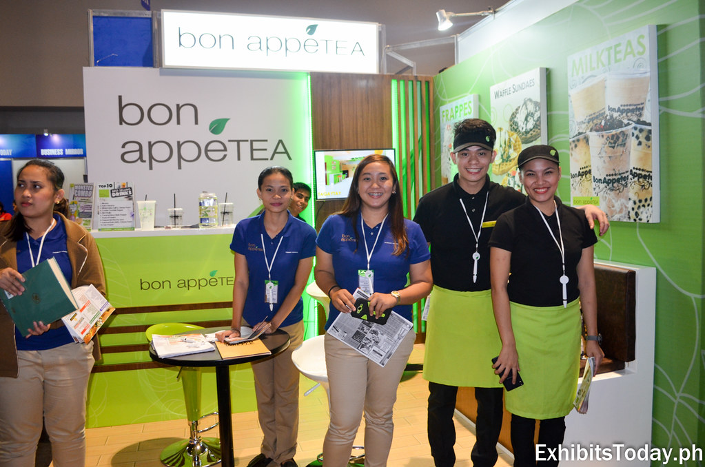 Bon Appetea Exhibit Booth