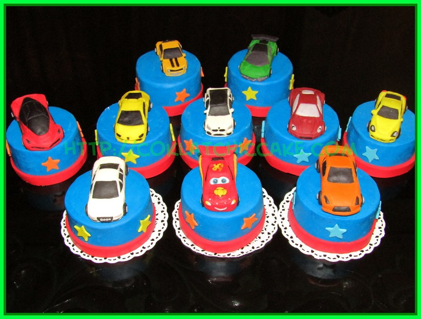 Minicake mobil sport