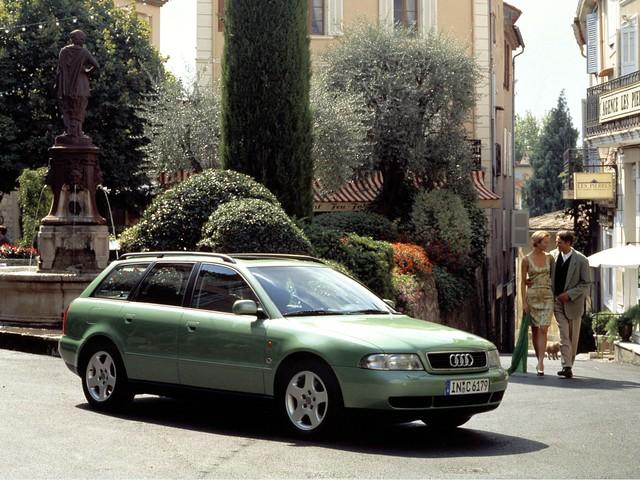 Универсал Audi A4 B5 Avant. 1995 - 2001 годы производства