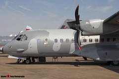 016 - S-018 - Polish Air Force - CASA C-295M - Fairford RIAT 2014 - Steven Gray - IMG_4148
