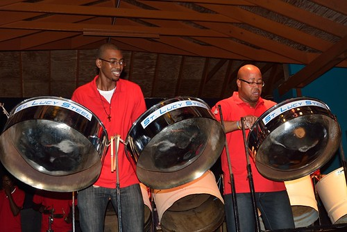 Steel Drum Band in St. Lucia