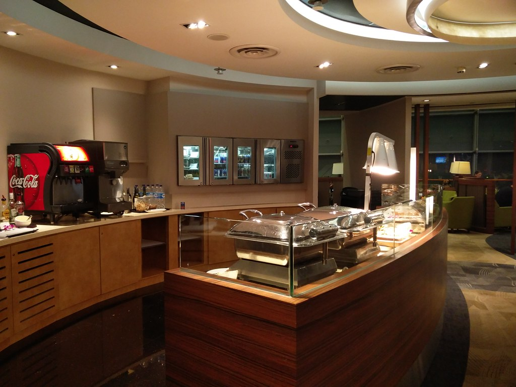 Buffet section