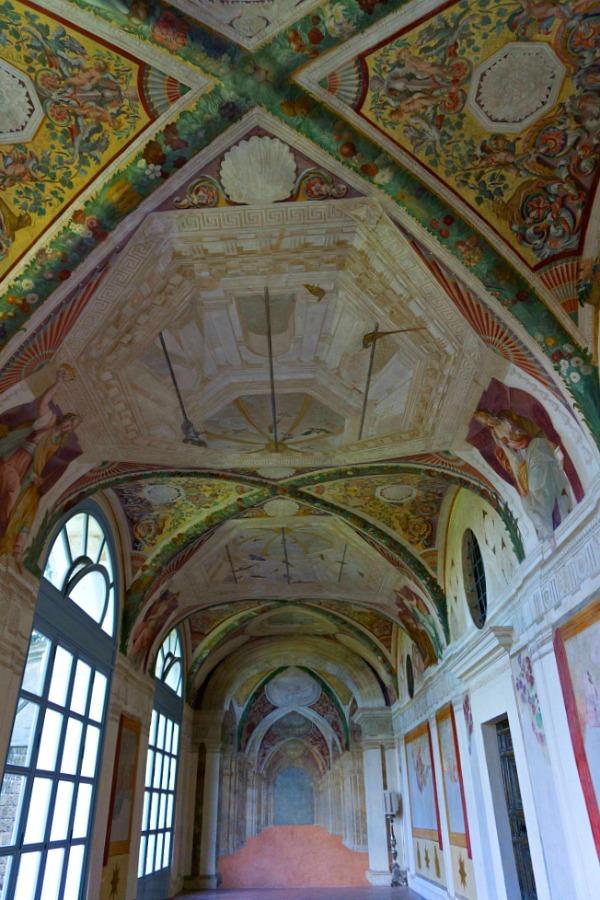 Villa Lante Interior Things to see in Viterbo