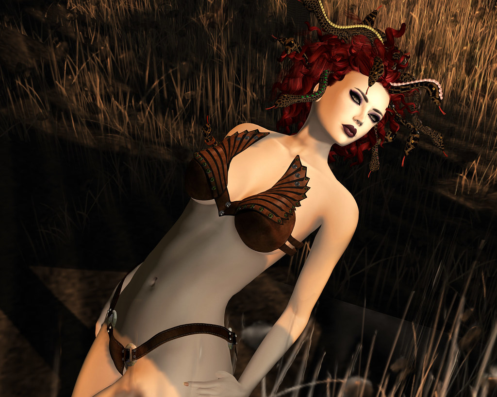 Nayra leather bra, EMO-tions @ We <3 RP July