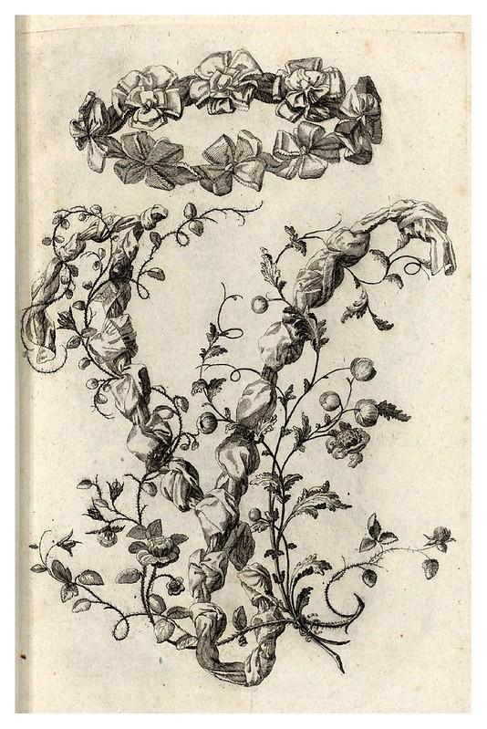 010-Letra V-Alphabet orné 1760 -BNF-Gallica