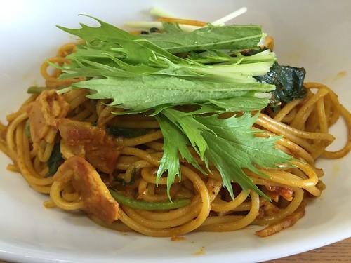 旨い!家カレー 炒めるカレースパゲティ