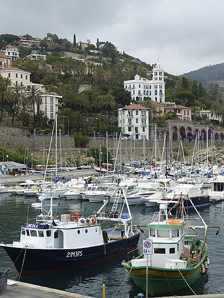 le port de Bordighera