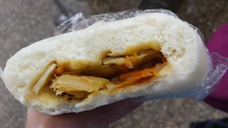 Steamed Vegetable Bun at Buddha's Birthday