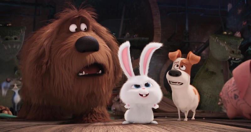 Louis C.K., Kevin Hart and Eric Stonestreet reveal THE SECRET LIFE OF PETS.