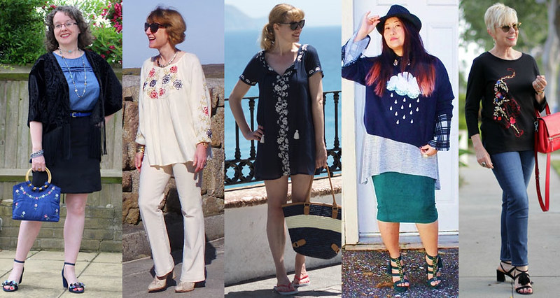 Fashion bloggers wearing embroidery #iwillwearwhatilike