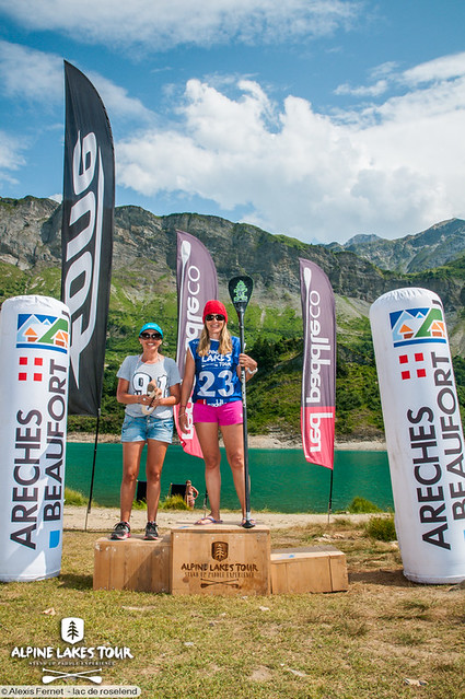 Alpine Lakes Tour Roselend 2015
