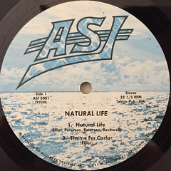NATURAL LIFE:NATURAL LIFE(LABEL SIDE-A)