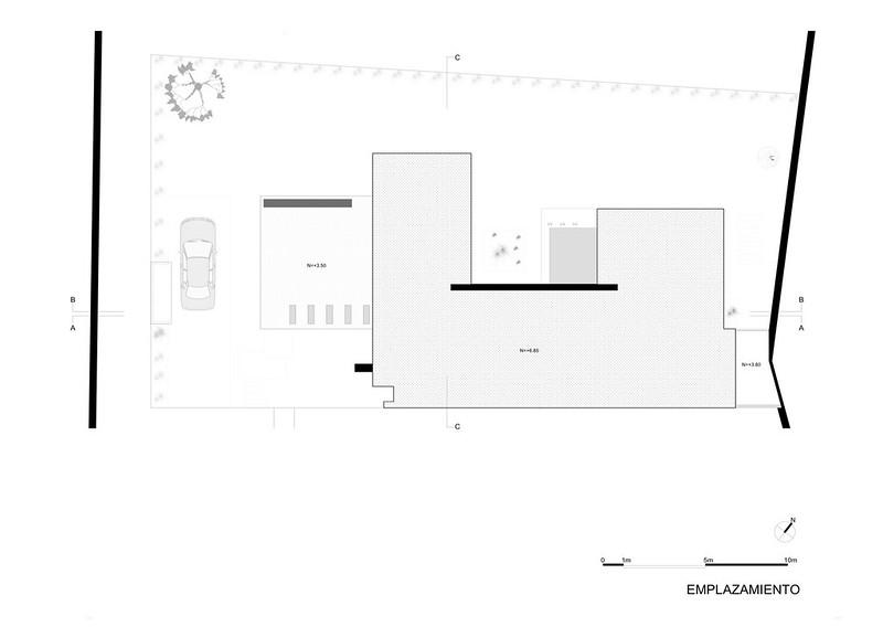 План модульного дома от ModulARQ arquitectura