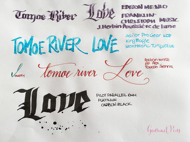 Review Tomoe River A4 Tablets Cream & White @GouletPens 15