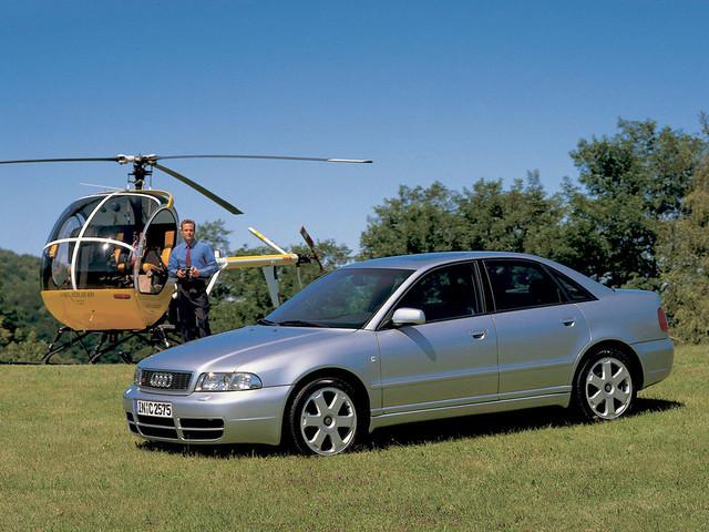 Высокопроизводительный седан Audi S4. 1997 - 2002 годы