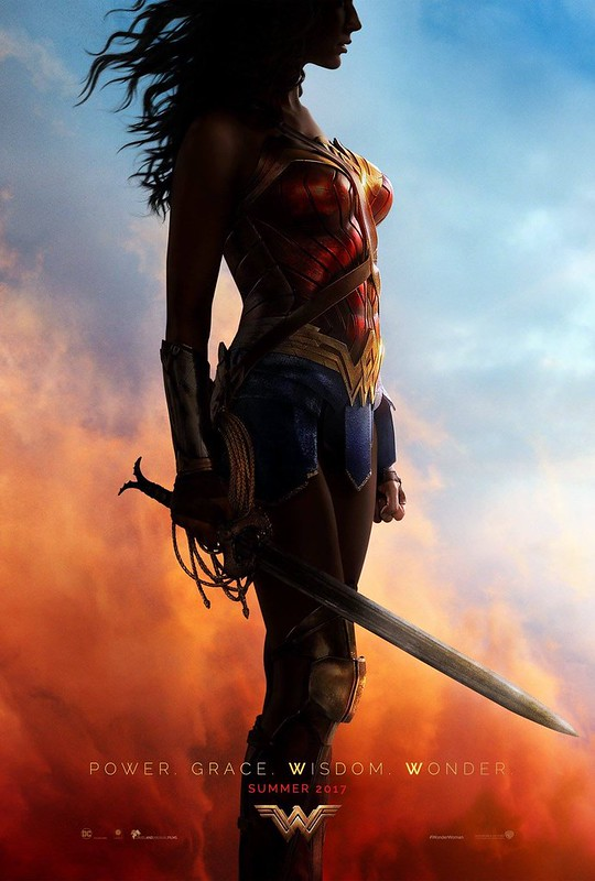 Wonder Woman SDCC Poster
