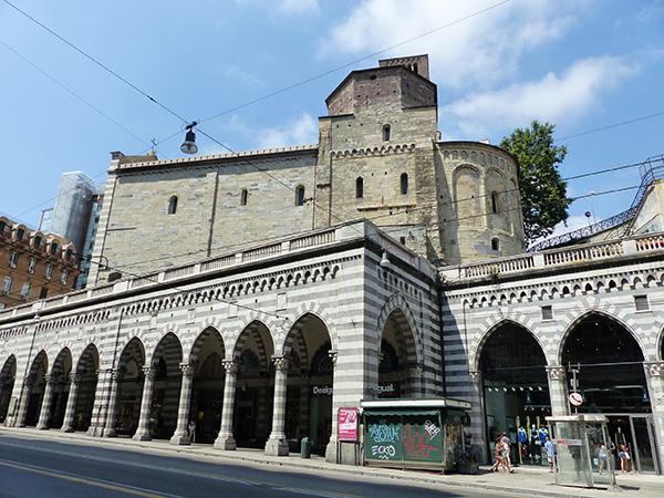 l'église san stefano, Genova