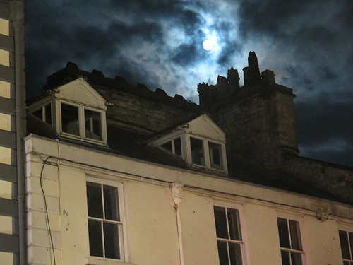 Moon over Kendal