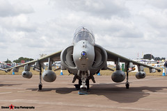 ZH657 108 - TX005 - Royal Air Force - British Aerospace Harrier T12 - Fairford RIAT 2010 - Steven Gray - IMG_8293