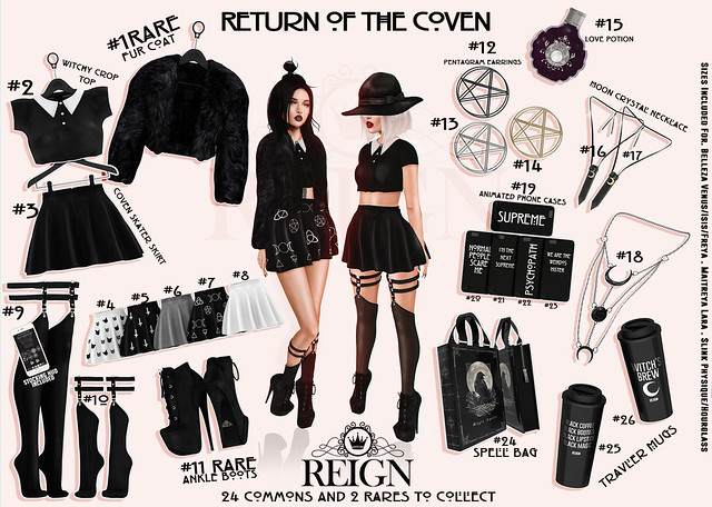 REIGN.- RETURN OF THE COVEN GACHA