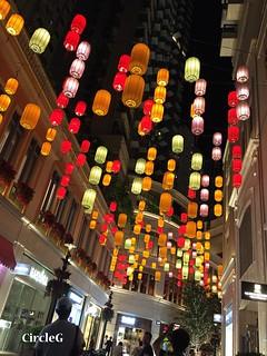 CIRCLEG 遊記 香港 灣仔 銅鑼灣 利東街 合和中心對面 燈籠 靚景 似旅行 聖誕 (1)
