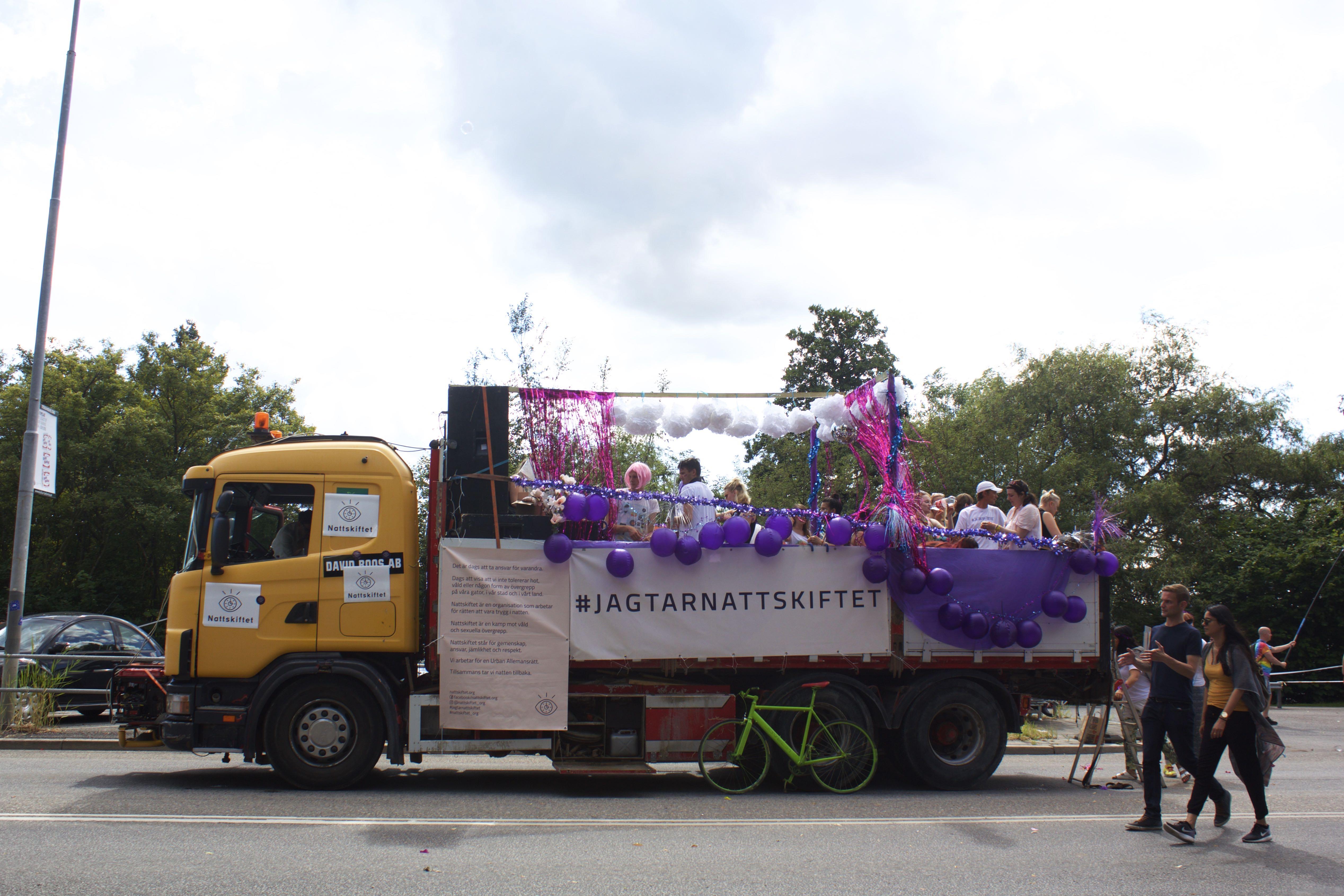 Stockholm Pride #Jagtarnattskiftet