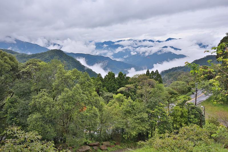 變化萬千的山谷景色