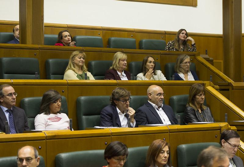 Constitución de la X legislatura del Parlamento Vasco
