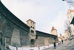Башня Хеллеманна. Hellemanni torn. Tallin. Estonia
