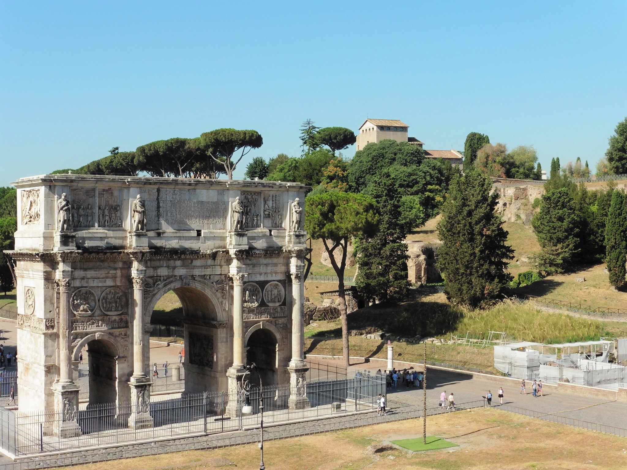 Archway near the Colosseum