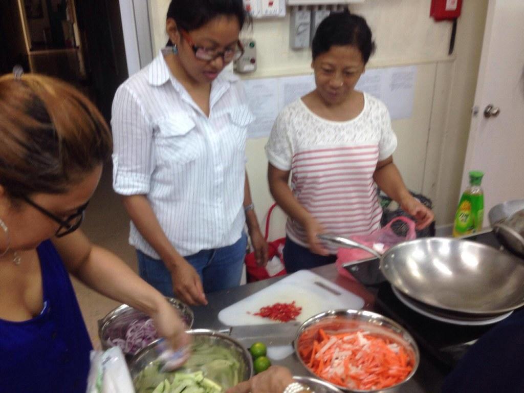 2016-8-21 Hong Kong: FADWU Kitchen - Cooking Exchange Program