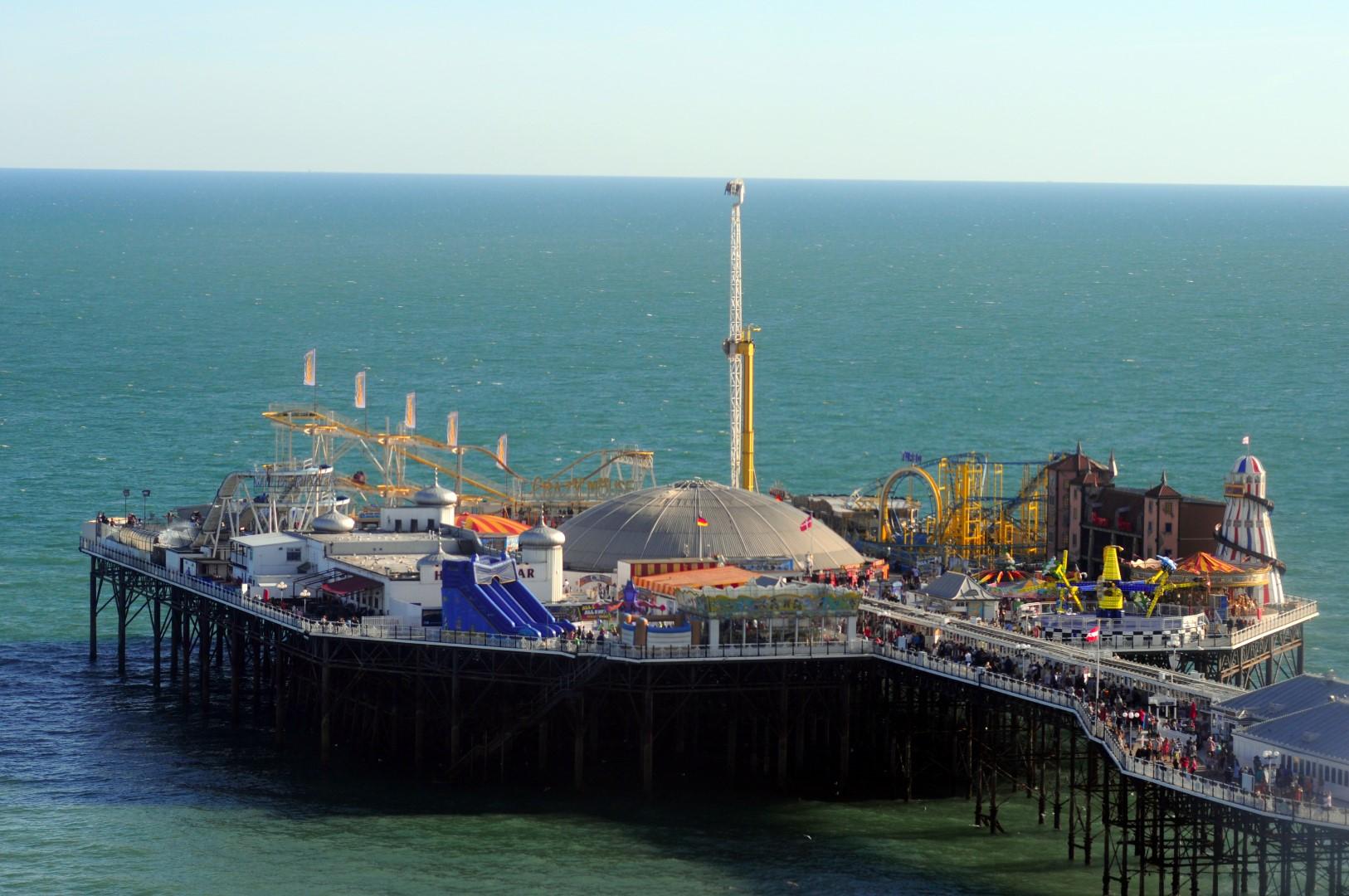 Brighton en Inglaterra brighton - 28867408396 1a8786912b o - Brighton, la playa de Londres