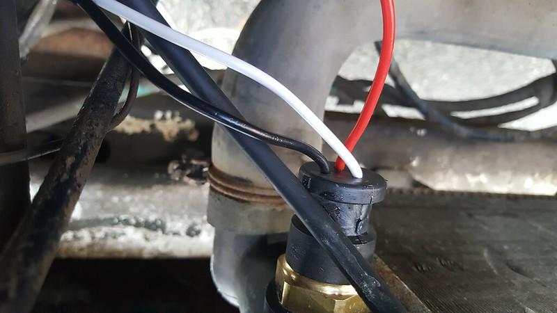 Radiator Fan Switch Wiring