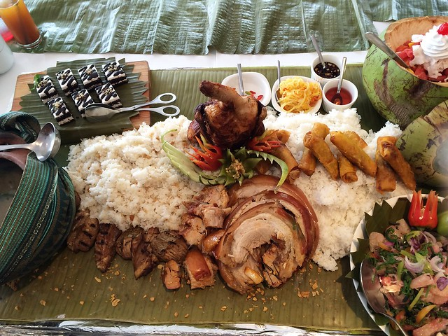 Supersize Boodle Fight Meal photo