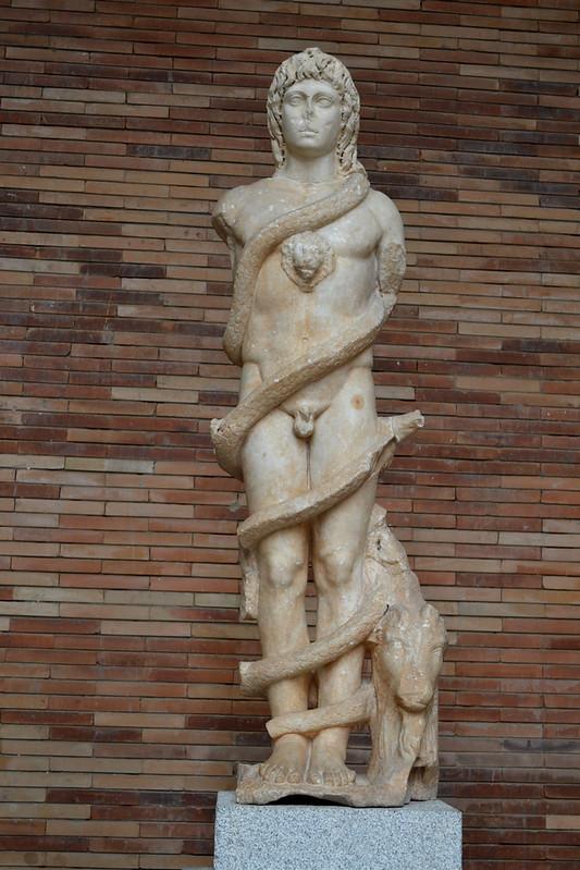 Cronos mitraico del Museo Nacional de Arte Romano.