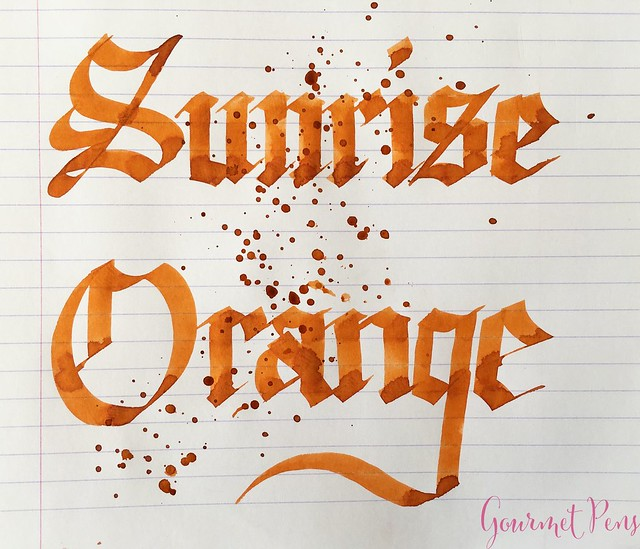 Ink Shot Review Kaweco Sunrise Orange @Kaweco_Germany 6