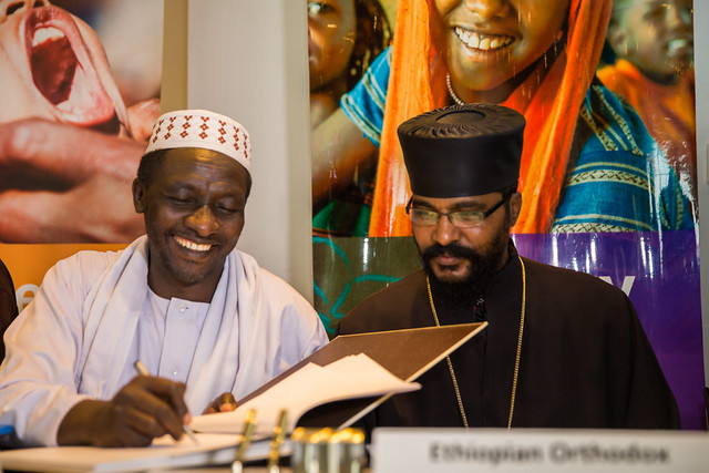 MoU between UNICEF and major religious institutions for the wellbeing of children and women in Ethiopia