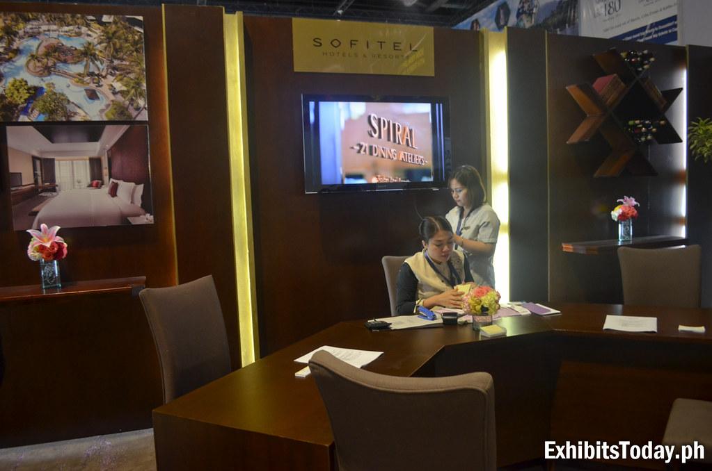 Sofitel Exhibit Booth
