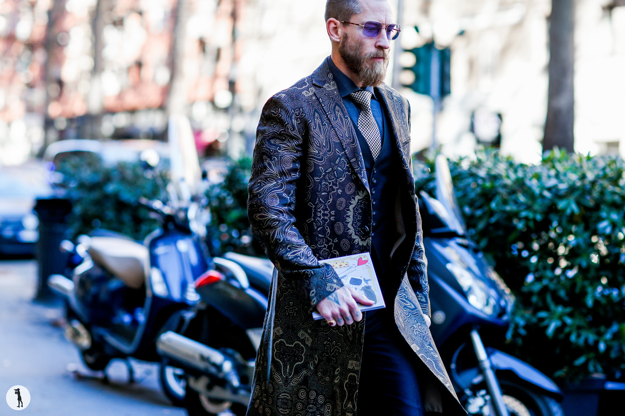Justin O Shea at Milan Fashion Week Menswear