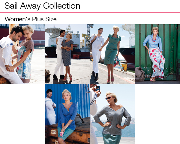 Sail Away Plus Size Collection
